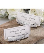 6 Birch Place Card Holders Wedding Anniversary ... - $14.83