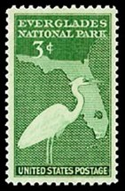 1947 3c Everglades Park Dedication Scott 952 Mint F/VF NH - $0.99