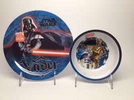Star Wars Plate,Bowl Set Brand New! - $8.95