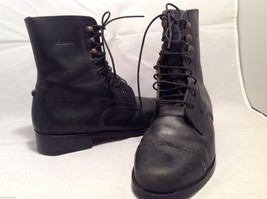 Mascot womens Black Combat Boots, Size 5