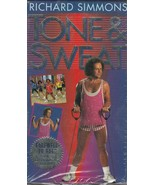 Richard Simmons TONE and SWEAT VHS Tape Workout ~ Farewell to Fat  ~ 1994 - $10.87