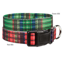 Dog Collar Scotty Plaid Tartan East Side Collec... - $6.99 - $10.99