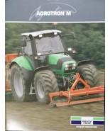 2008 Deutz-Fahr Agrotron M600, 610, 620, 640, 650 Tractors Brochure - $8.00