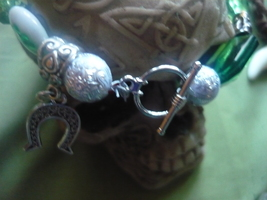 Paranormal Handmade Bracelet Of Change Yule Made And Spelled On Yule Then On New - $59.99