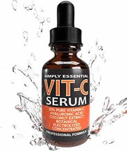 New Enhanced Facial Serum ❤ 20% Pro Vitamin-C ❤ Hyaluronic (Clear) - $30.68