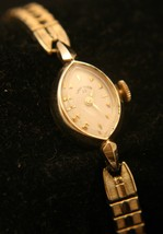 Rare Lady Elgin 23, solid 14K yellow gold, 17J ... - $1,200.00