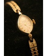 Rare Lady Elgin 23, solid 14K yellow gold, 17J Swiss Lorett movement wri... - $900.00