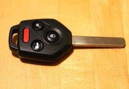 2011  2014 Subaru Legacy Remote Head Key Fob Uncut Blade Forester Cwtwbu811 - $89.05