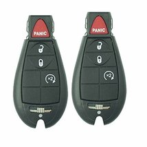 2012 13 14 Dodge Dart Keyless Entry Remote Key Fob W/ Uncut Key M3 N32297100 D... - $108.89