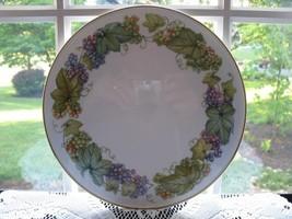 Royal Worcester Cake/Serving Plate - Vine Harvest - $35.00