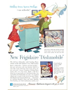 1962 Frigidaire Dishmobile Dishwasher print ad - $10.00