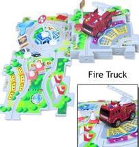 Puzzle Vehicle Play Set  Fire Truck  - $24.95