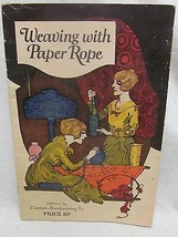 Weaving with Paper Rope - $35.00