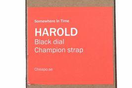 Cheapo CHPO Harold Rainbow Nylon Band Strap Black Face Dial 14224SS Analog Watch image 4