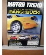 Motor Trend Magazine September 1992 Bang for the Buck - $8.99
