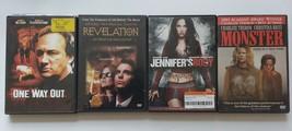 Horror Dvd lot Of 4 JENNIFER'S BODY MONSTER REVELATION ONE WAY OUT - $5.93