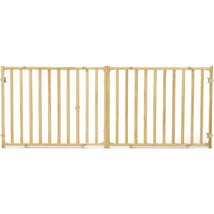 Midwest Homes For Pets Natural Extra-wide Wood Pet Gate 24 - $89.57
