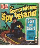 G.I. Joe The Secret Mission To Spy Island 45 rpm Record & Book - $9.95