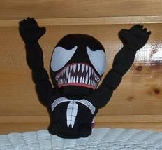 Marvel Comics Super Deformed Plush Black Venom Spider-Man Villain - $9.95