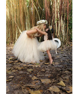 Mommy and Daughter Matching Beige Tutus - $70.00+