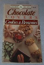 Cook Book Favorite All Time Recipes Chocolate Lover's Cookie - $5.00