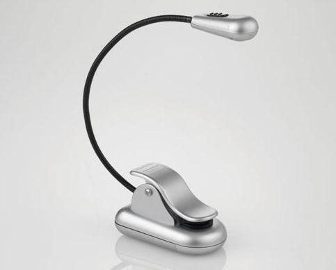 Daylight LED Clip-on Light silver UN1057 DISCOUNTED Daylight Company