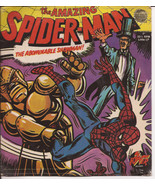The Amazing Spider-Man 33 1/3 RPM Little LP Record The Abominable Showman - $12.95