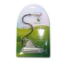 Daylight LED Clip-on Light silver UN1057 DISCOUNTED Daylight Company