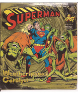 Power Records Superman 33 1/3 RPM Little LP Record Weatherspoon's Catalyst - $12.95