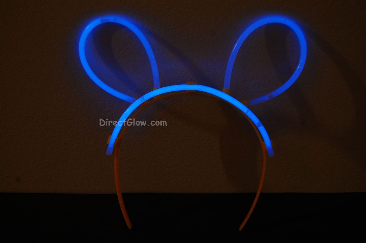 Blue glow bunny ears1