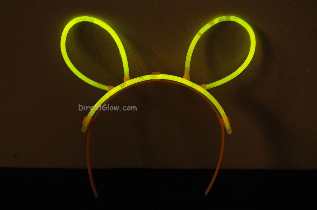 Yellow glow bunny ears1