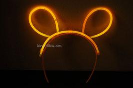 Set of 5 Orange Glow Bunny Ears - $8.50