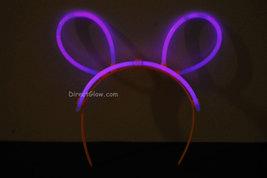 Set of 5 Purple Glow Bunny Ears - $8.50