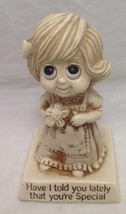 "Russ Berrie & Co. ""Have I Told You Lately That You're Special"" 1976 Figure ~ Euc - $12.99"