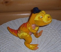 "Disney Meet The Robinsons Plush 7"" T-Rex Dinosaur ""TINY"" with Black Hat - $8.95"
