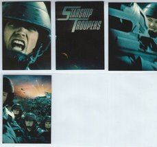 Starship Troopers Complete Sub Set 4x PA #1-4 Trading Cards Inkworks - 1997 - $10.99
