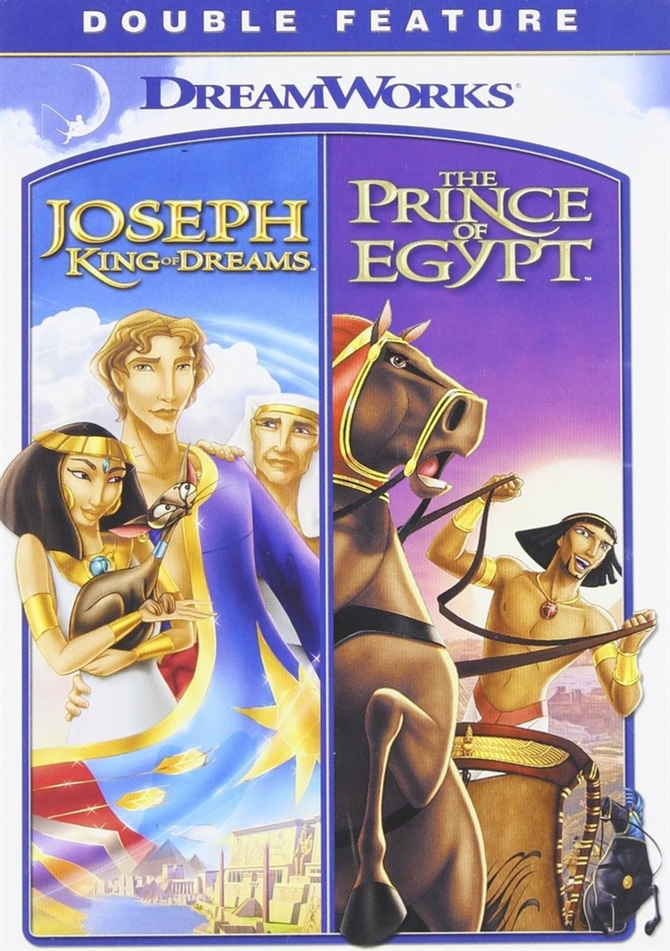 Prince of egypt   joseph king of dreams  double feature   dvd