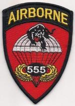 US Army Airborne 555th Parachute Infantry Battalion The Triple Nickels P... - $9.99