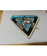 Official Member North American Fishing Club Sewing Patch - $5.00