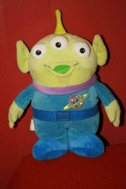 "Disney Parks Authentic Toy Story Alien Plush Stuffed Doll 12"" Pixar Pizz... - $17.67"
