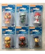 Nickelodeon Paw Patrol Mini Figures Chace Marshall Rocky Skye Rubble Zum... - $24.95