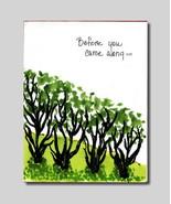 Handmade Watercolor Card Friendship Dating Gree... - $4.25