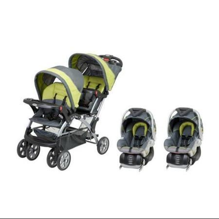 double twin stroller travel system with infant car seats strollers. Black Bedroom Furniture Sets. Home Design Ideas