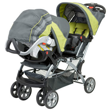 Double, Twin Stroller Travel System with Infant Car Seats ...