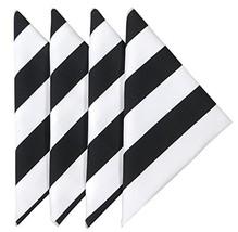 Cloth Napkins Wedding Napkins Table Linens Linen Napkins Set of 12 Black... - $73.41