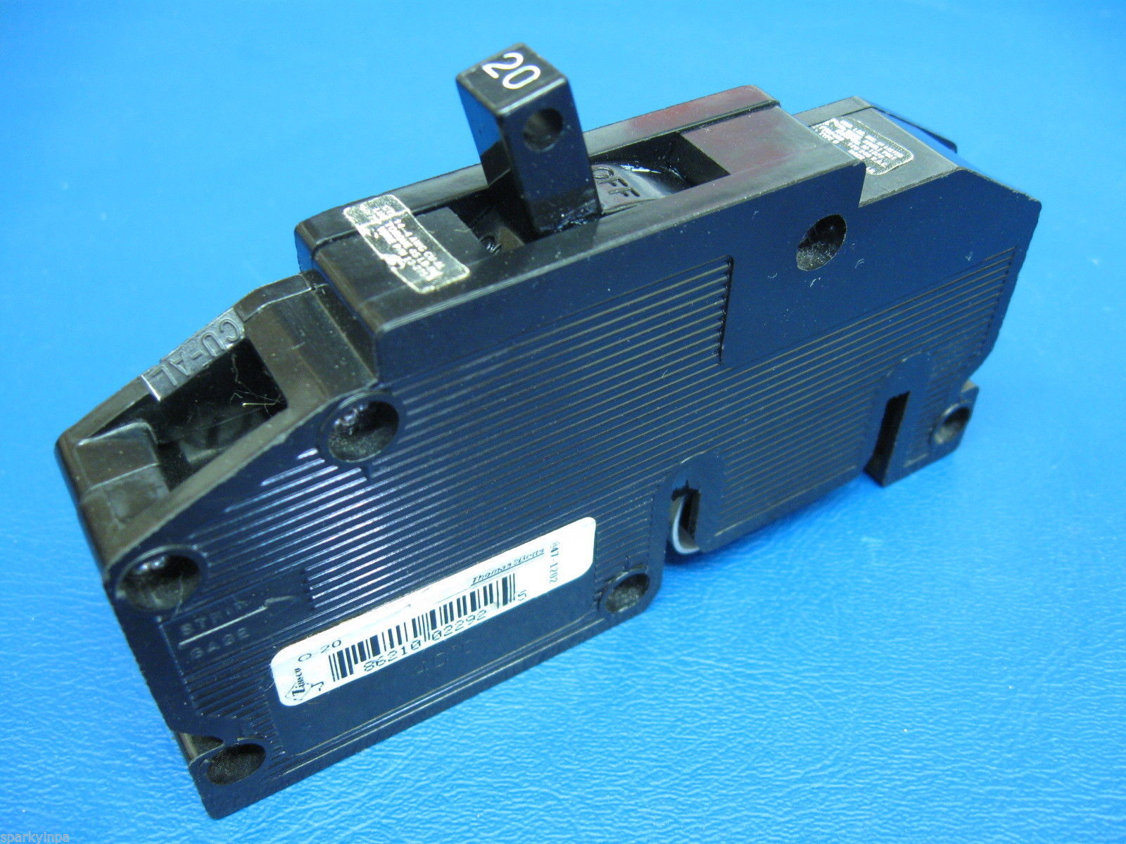 20a Zinsco Or Gte Sylvania 20 Amp 1 Pole Type Q Breaker