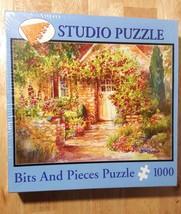 Studio Puzzle Bits And Pieces 1000 Piece Jigsaw Hidden Cottage 44101 - $19.79