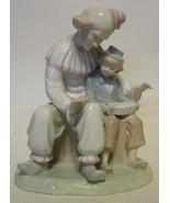 Paul Sebastian Friendship Clown & Child Figurine - $49.00