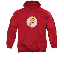 FLASH DISTRESSED LOGO RED ADULT PULL-OVER HOODIE LICENSED NEW dco623-AFTH - $33.99+