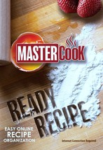 Master Cook Ready Recipe Easy Online Recipe Organization DVD ROM NEW - $9.08